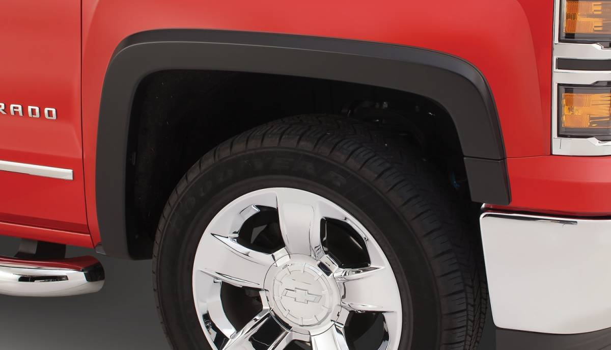2016-2018 Chevrolet Silverado 1500 2500 3500 HD Stainless Steel Fender Trim