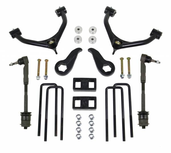 ReadyLift - ReadyLift 2011-18 CHEV/GMC 2500/3500HD 3.5'' Front with 1.0'' Rear SST Lift Kit 69-3411