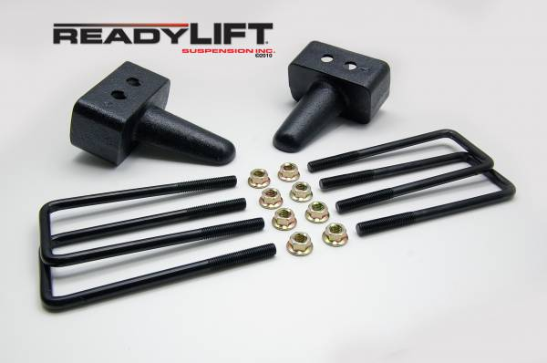 ReadyLift - ReadyLift 2004-18 FORD F150 3'' Rear Block Kit 66-2053