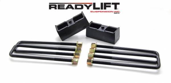 ReadyLift - ReadyLift 1999-18 CHEV/GMC 1500 2.25'' Rear Block Kit 66-3002