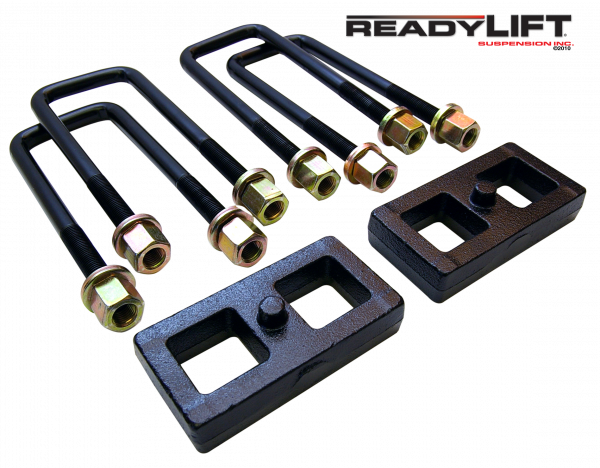ReadyLift - ReadyLift 1995-18 TOYOTA TUNDRA/TACOMA 1'' Rear Block Kit 66-5001