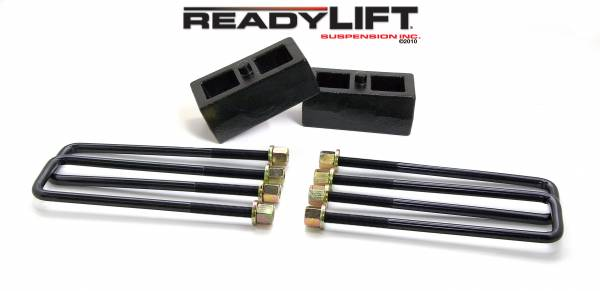 ReadyLift - ReadyLift 1999-18 TOYOTA TUNDRA/TACOMA 2'' Rear Block Kit 66-5002