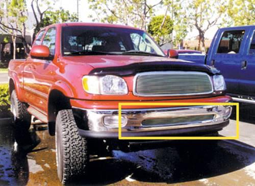 T-Rex - T-Rex Billet Bumper Grille, Polished, Aluminum, 1 Pc, Overlay 25956