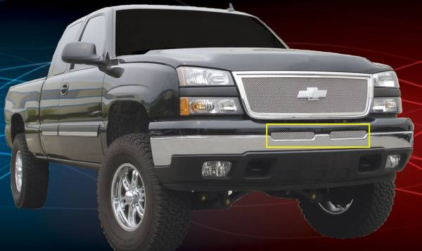 T-Rex - T-Rex Upper Class Bumper Grille, Polished, Stainless Steel, 1 Pc, Bolt-On 55103