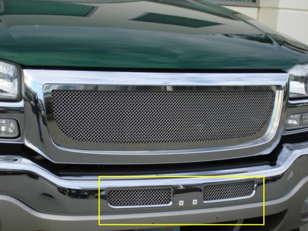 T-Rex - T-Rex Upper Class Bumper Grille, Polished, Stainless Steel, 1 Pc, Bolt-On 55200