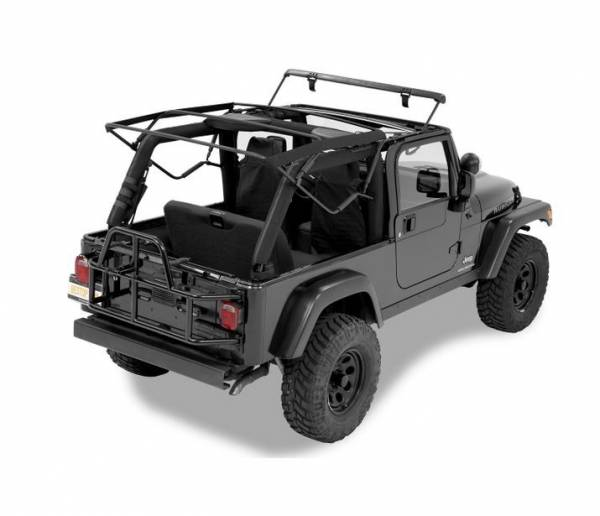 Bestop - Bestop Replacement Bows And Frames; OE style - Jeep 2004-2006 Wrangler Unlimited 55003-01