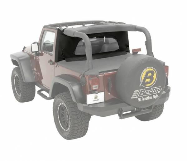 Bestop - Bestop Wrap-Around Windjammer Jeep 1997-2002 Wrangler 80033-15