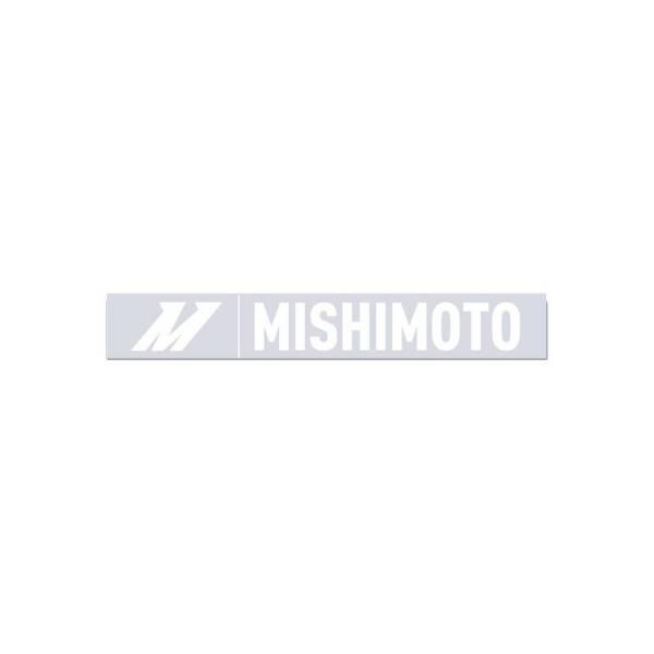 Mishimoto - Mishimoto Small Silver Mishimoto Decal, 1.5 x 10 MMPROMO-STK-SSM