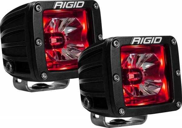 RIGID Industries - RIGID Industries RADIANCE POD RED BACKLIGHT /2 20202