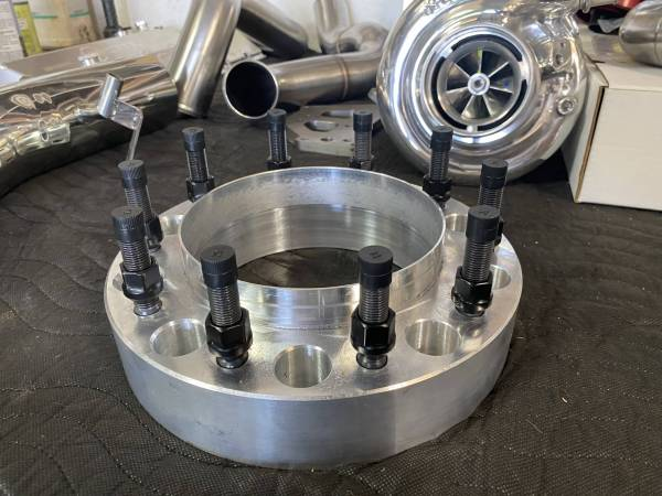 """Shifted Industries - 2"""" 10x225 F-450/F-550 Hub Centric Wheel Spacer (PAIR)"""