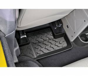 Interior - Floor Mats - Bestop - Bestop Floor Liner; Rear - Jeep 2007-2010 Wrangler; 2DR; Pair 51502-01