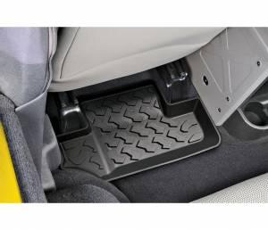 Interior - Floor Mats - Bestop - Bestop Floor Liner; Rear - Jeep 2011-2018 Wrangler JK 2DR; Pair 51503-01