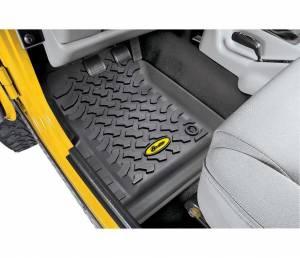 Interior - Floor Mats - Bestop - Bestop Floor Liners; Front - Jeep 1997-2006 Wrangler; Pair 51509-01