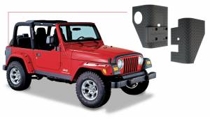 Exterior - Body Armor & Sliders - Bushwacker - Bushwacker TRAIL ARMOR 14001