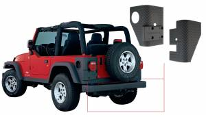 Exterior - Body Armor & Sliders - Bushwacker - Bushwacker TRAIL ARMOR 14004