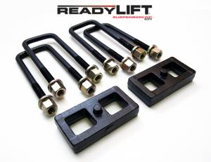ReadyLift - ReadyLift 2000-10 CHEV/GMC 1500/2500/3500HD 1'' Rear Block Kit 66-3051