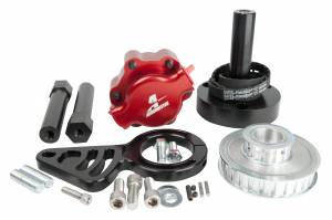 Fuel System - Pumps - Aeromotive Fuel System - Aeromotive Fuel System B.B Chevy Belt Drive Installation Kit (11105 pump, pulleys, bracket, hardware) 17241