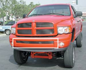 Exterior - Grilles - T-Rex - T-Rex Billet Bumper Grille, Polished, Aluminum, 1 Pc, Bolt-On 25466