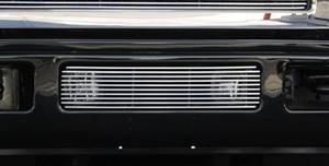 Exterior - Grilles - T-Rex - T-Rex Billet Bumper Grille, Polished, Aluminum, 1 Pc, Bolt-On 25561