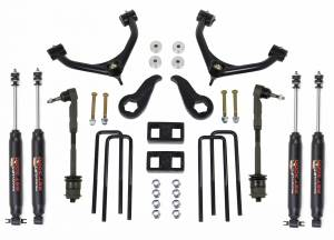 Suspension - Lift Kits - ReadyLift - ReadyLift 2011-18 CHEV/GMC 2500/3500HD 3.5'' F,  1.0'' R SST Lift Kit with SST3000 Shocks 69-3511