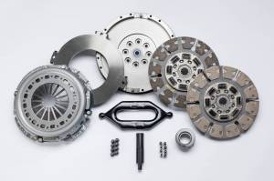 Transmissions & Parts - Manual Transmission Parts - South Bend Clutch - South Bend Clutch Organic Street Dual Disc SDD3250-6.0/6.4ORG
