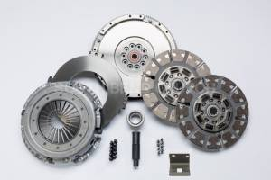 Transmissions & Parts - Manual Transmission Parts - South Bend Clutch - South Bend Clutch Organic/Ceramic Dual Disc SFDD3250-6.4