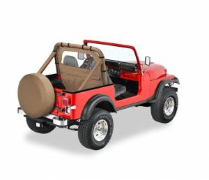 Tops & Parts - Soft Top Parts - Bestop - Bestop Windjammer Jeep 1980-1995 CJ5; CJ7 And Wrangler 80028-37