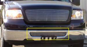 Exterior - Grilles - T-Rex - T-Rex Billet Bumper Grille, Polished, Aluminum, 1 Pc, Bolt-On 25555
