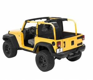 Tops & Parts - Soft Top Parts - Bestop - Bestop Windjammer Jeep 2007-2018 Wrangler 2DR 80031-35