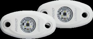 Lighting/Electrical - Off Road Lights - RIGID Industries - RIGID Industries A-SERIES HP WHT GRN /2 482243