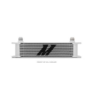 Performance - Oil System & Parts - Mishimoto - Mishimoto Universal 10 Row Oil Cooler MMOC-10