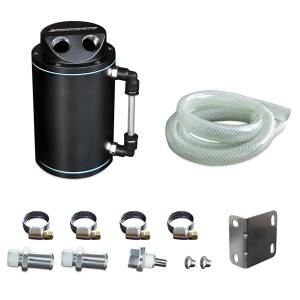 Performance - Oil System & Parts - Mishimoto - Mishimoto Black Oil Catch Can MMOCC-RB