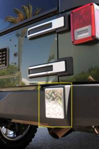 Exterior - Grille Guards and Bull Bars - T-Rex - T-Rex T1 Exterior Trim, Brushed, Aluminum, 2 Pc, Bolt-On 11485