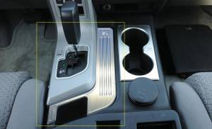 Interior - Misc. Interior Accessories - T-Rex - T-Rex T1 Interior Trim, Brushed, Aluminum, 1 Pc, Tape 11959