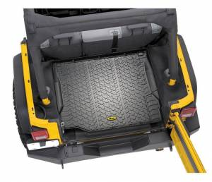 Interior - Cargo & Storage - Bestop - Bestop Cargo Liner; Rear - Jeep 2007-2010 Wrangler And Wrangler Unlimited; Each 51505-01