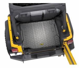 Interior - Cargo & Storage - Bestop - Bestop Cargo Liner; Rear - Jeep 2011-2018 Wrangler JK 2DR & 4DR; Each 51507-01