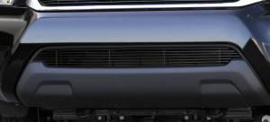 Exterior - Grilles - T-Rex - T-Rex Billet Bumper Grille, Black, Aluminum, 1 Pc, Overlay 25938B