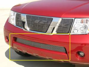 Exterior - Grilles - T-Rex - T-Rex Billet Bumper Grille, Polished, Aluminum, 1 Pc, Bolt-On 25760
