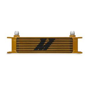 Performance - Oil System & Parts - Mishimoto - Mishimoto Universal 10 Row Oil Cooler MMOC-10G