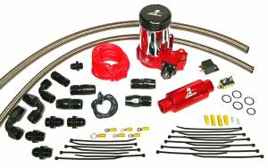 Fuel System - Pumps - Aeromotive Fuel System - Aeromotive Fuel System A2000 Drag Race Pump Only Kit Includes(lines,fittings, hose ends and 11202 pump) 17202