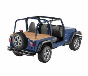 Exterior - Tonneau Covers - Bestop - Bestop Duster Deck Cover Jeep 1997-2002 Wrangler 90020-37