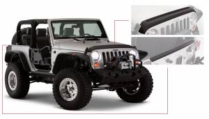 Exterior - Body Armor & Sliders - Bushwacker - Bushwacker TRAIL ARMOR 14013