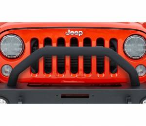 Exterior - Bumpers - Bestop - Bestop Tubular Grille Guard for Front Modular Bumper - 07-18 Wrangler JK 44944-01