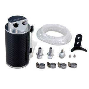 Performance - Oil System & Parts - Mishimoto - Mishimoto Carbon Fiber Oil Catch Can MMOCC-CF