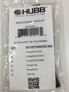 Performance - Oil System & Parts - HUBB Filters - HUBB Filters Replacement Parts Kit 3301