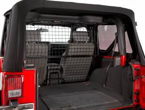 Interior - Misc. Interior Accessories - Bestop - Bestop Pet Barrier for Wrangler JK - Jeep 2011-2018 Wrangler JK 2DR 42503-01