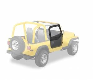 Exterior - Doors - Bestop - Bestop Upper Fabric Half-doors - Jeep 1988-1995 Wrangler 51780-01