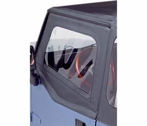 Exterior - Doors - Bestop - Bestop Upper Fabric Half-doors - Jeep 1988-1995 Wrangler 51782-01