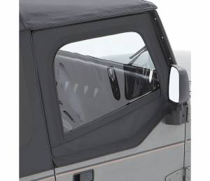 Exterior - Doors - Bestop - Bestop Upper Fabric Half-doors - Jeep 1988-1995 Wrangler 51782-15