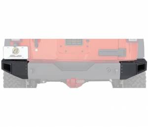 Exterior - Bumpers - Bestop - Bestop End Cap Kit for Rear Modular Bumper - 07-18 Wrangler JK 44941-01